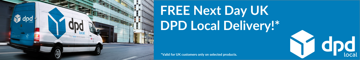 FREE Next Day DPD Local Delivery